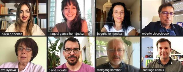 Los autores del estudio publicado en Science Advances y liderado por el doctor Santiago Canals, del Instituto de Neurociencias UMH-CSIC en Alicante. (Foto Prensa Libre: EFE)