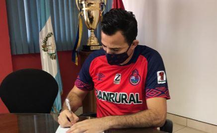 Marco Pablo Pappa cumplirá su tercera etapa con Municipal. (Foto Prensa Libre: CSD Municipal)