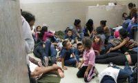 Miles de niños migrantes que viajan solos  han sido detenidos por las autoridades de EE. UU.  (Foto Prensa Libre: Hemeroteca PL)