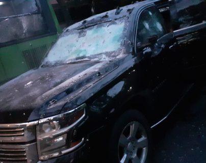 El secretario de Seguridad de la Ciudad de México sobrevivió a un atentado. (Foto Prensa Libre: Twitter @ramonramirezpe)