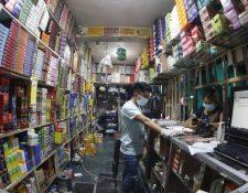 Muchos negocios permanecen cerrados desde marzo y para otros ha bajado la demanda. (Foto, Prensa Libre: Hemeroteca PL).