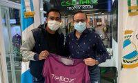 Paulo César Motta es el primer refuerzo que renombre que ha confirmado CSD Tellioz. Foto Prensa Libre: Tomada de Redes