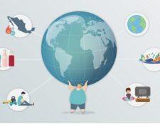 Ilustración sobre los hábitos alimenticios y su impacto en el estilo de vida. (Foto Prensa Libre: Forbes)