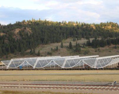 En este observatorio de Canadá se observaron las primeras ondas galácticas. (Foto: Hemeroteca PL)