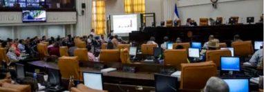 Vista general del Parlamento nicaragüense en Managua, Nicaragua. (Foto Prensa Libre: Hemeroteca PL)