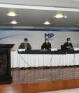 Fiscalía Contra la Trata de Personas dio detalles de los casos en conferencia de prensa. Fotografía: MP