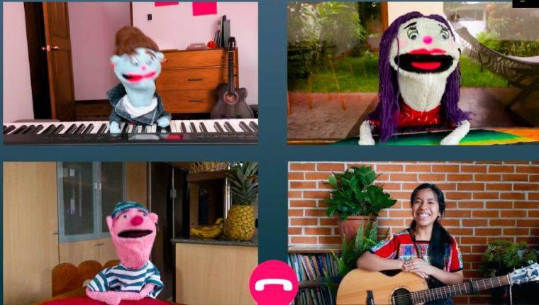 Sara Curruchich promociona una canción para niñas y niños. (Foto Prensa Libre: Caputa de pantalla de We Could Be Music)