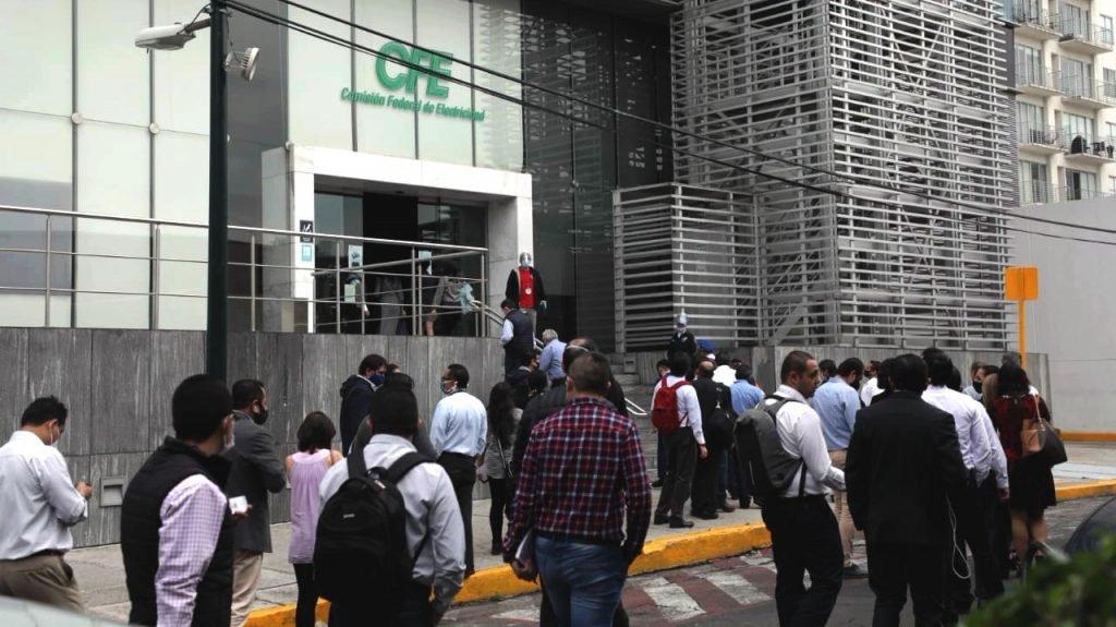 Oficinas de la CFE en la colonia Narvarte Oriente. Foto Prensa Libre: Arturo Luna / Forbes México.