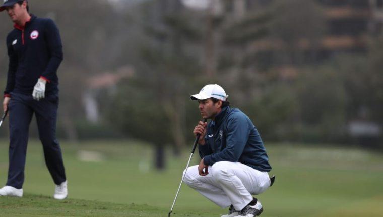 José Toledo participó en su segundo torneo después de tres meses de suspensión del golf por el coronavirus. Foto Prensa Libre: José Toledo