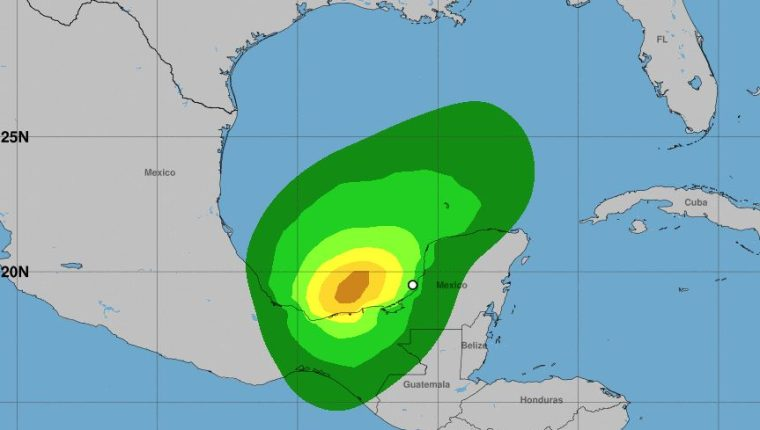 La lluvia continuará afectando a Guatemala durante varias horas. (Foto Prensa Libre: NHC)