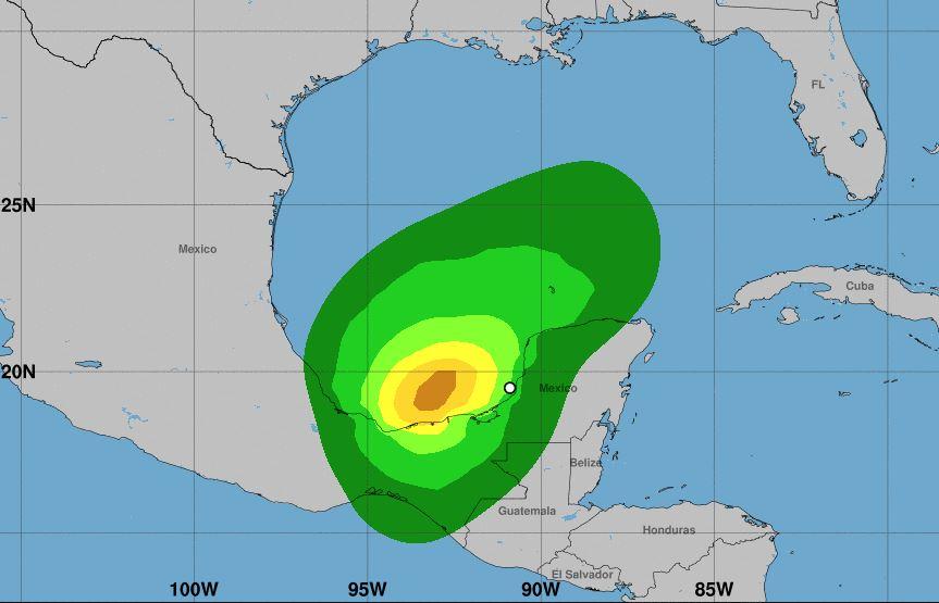 Depresión tropical 3 se forma en México y lluvia continuará por varias horas en Guatemala