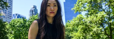 Rose Wang, en Nueva York, el 31 de diciembre de 2017. (Brittainy Newman/The New York Times)