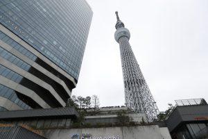 Tokyo Skytree, la estructura más alta de Japón ubicada en Tokyo con 634 metros de altura. (Foto Prensa Libre: Daniel Guillén Flores)