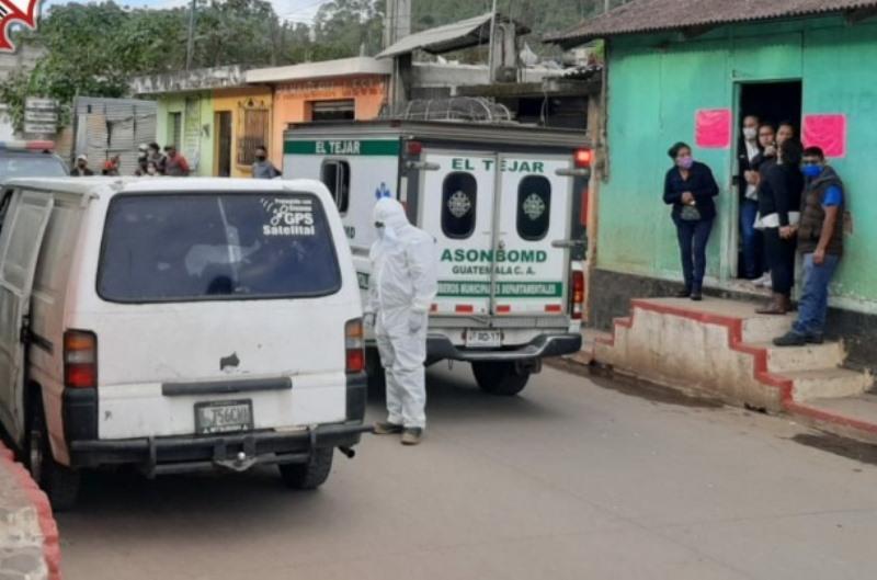 Matan a dos hombres en una panadería en El Tejar, Chimaltenango