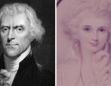Thomas Jefferson se enamoró de María Cosway, pero ella no era libre.