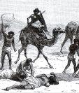 Sudán fue una de las zonas de comercio de esclavos más activas en África en el siglo XIX. GETTY IMAGES
