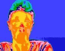 Termografía que muestra como, cuando mentimos, la temperatura de la nariz cambia. Es lo que se conoce como efecto Pinocho.