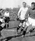Jack Leslie jugó para Plymouth Argyle en la década de 1920.