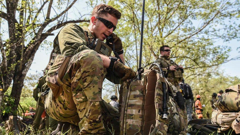 Militares de Estados Unidos en Colombia: la brigada élite que causa controversia