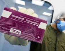Remdesivir es uno de los pocos fármacos que han mostrado algún efecto contra covid-19.
