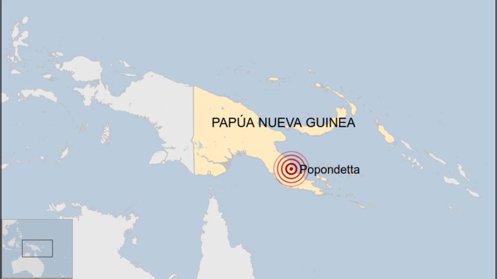 Terremoto en Papúa Nueva Guinea: un temblor de magnitud 7 grados sacude el sureste del país sudasiático