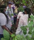 Los cuerpos sin vida de los jóvenes fueron encontrados en una zona boscosa a la orilla del lago Gatún.