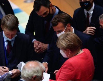 El acuerdo se logró tras largos debates. AFP