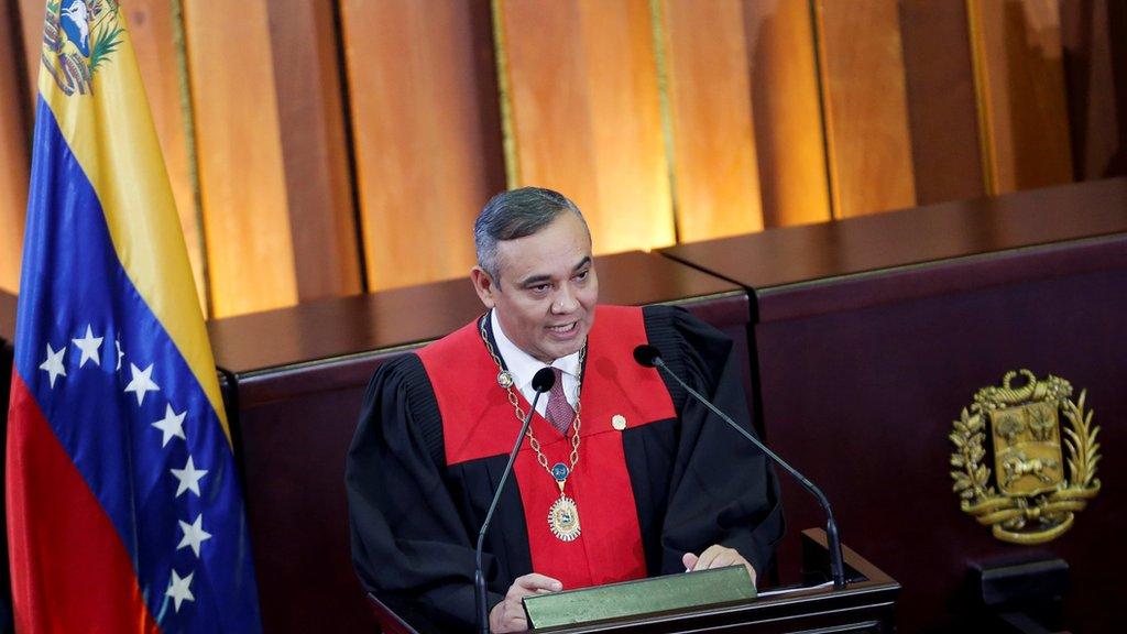 Quién es Maikel Moreno, la última autoridad de Venezuela por la que Estados Unidos ofrece una recompensa millonaria