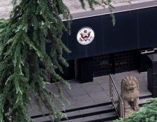 El consulado general de Estados Unidos en Chengdu.