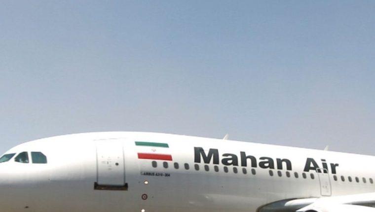 El avión de Mahan Air, en ruta desde Teherán a Beirut, aterrizó sin otros inconvenientes en la capital libanesa. AFP