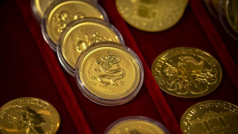 El oro alcanzó esta semana un nuevo máximo histórico en US$1.944 por onza.