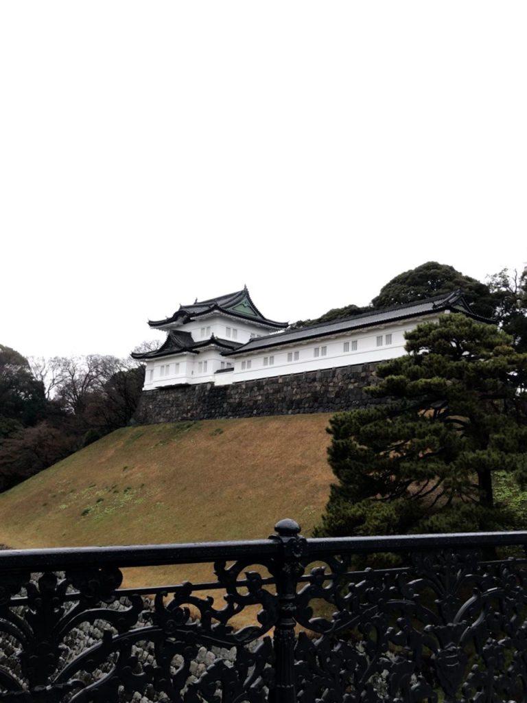 Interior del Palacio Imperial de Tokyo. (Foto Prensa Libre: Daniel Guillén Flores)