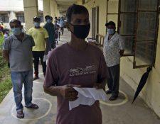 India contabiliza 17 mil 834 muertos por coronavirus y más de 605 mil casos. (Foto Prensa Libre: AFP)
