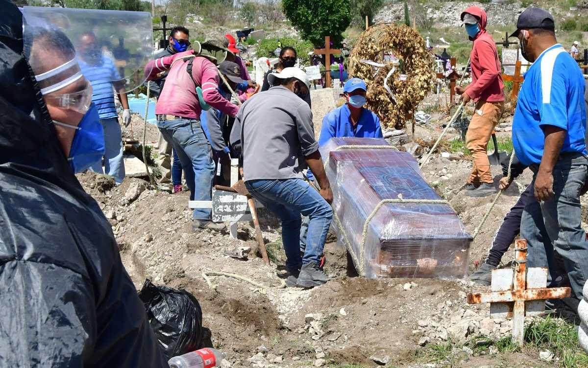 México supera a Francia con 30 mil 366 muertos por COVID-19