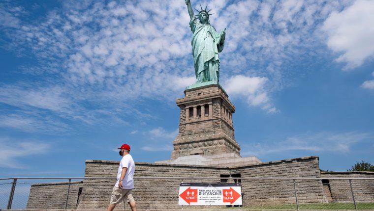 Estados Unidos es uno de los países más afectados por el coronavirus. (Foto Prensa Libre: EFE)