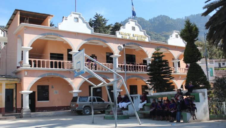 Municipalidad de San Juan Atitán, Huehuetenango. (Foto Prensa Libre: Hemeroteca PL)