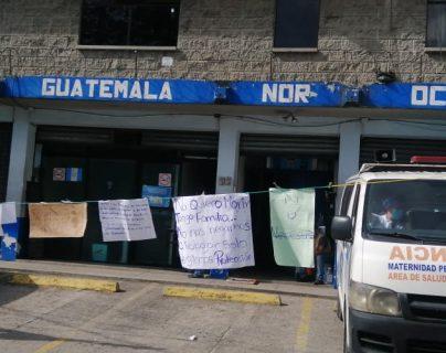 Centro de Salud deja de atender y pone en aprietos la atención por coronavirus en San Pedro Sacatepéquez