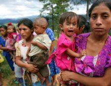 La desnutrición afecta a muchos niños guatemaltecos. (Foto Prensa Libre: Hemeroteca PL)