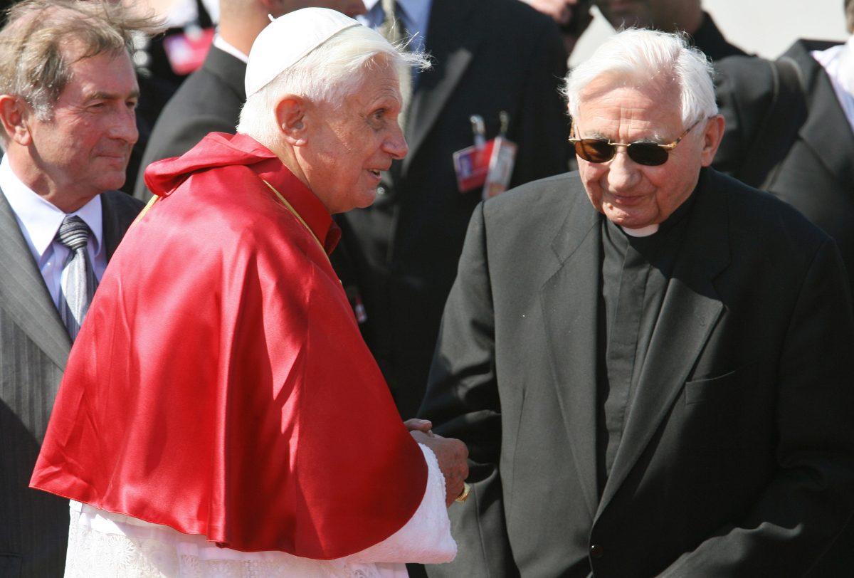 Muere en Alemania Georg Ratzinger, hermano del papa emérito Benedicto XVI