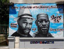 La muerte de George Floyd a manos de la Policía ha causado indignación entre los estadounidenses, que han salido a las calles de varias ciudades a manifestar. (Foto Prensa Libre: AFP)