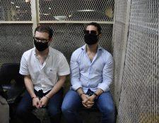 Luis Enrique Martinelli y Ricardo Martinelli Jr están presos en Mariscal Zavala. (Foto Prensa Libre: Hemeroteca PL)