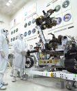 En esta imagen de la NASA, se observa el robot Perseverance que será enviado a Marte. (Foto Prensa Libre: AFP)