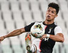 Cristiano Ronaldo se ha convertido en uno de los hombres claves de la Juventus. (Foto Prensa Libre: AFP).