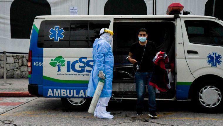 IGSS denunció en 2019 una supuesta estructura construida para afectar a la institución. (Foto Prensa Libre: Hemeroteca PL)
