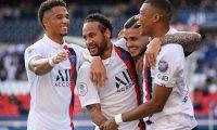 Neymar celebró con Icardi y... ¿se burlaron de Ramos y Benzema? (Foto Prensa Libre: AFP)