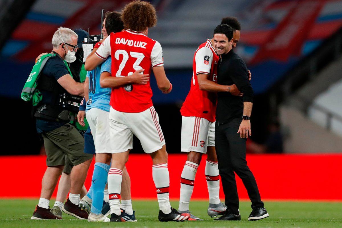 Arsenal gana 2-0 a Manchester City y se mete en la final de la FA Cup