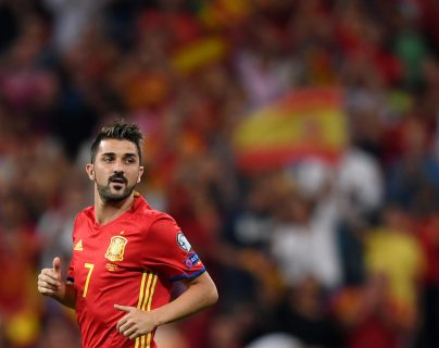 David Villa ha sido acusado de abuso sexual. (Foto Prensa Libre: AFP)
