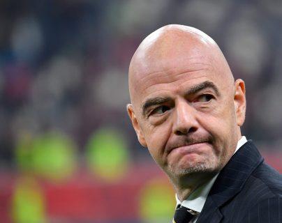 La justicia suiza empezó una investigación contra el presidente de la FIFA Gianni Infantino, relacionada a un caso de corrupción. (Foto Prensa Libre: AFP)