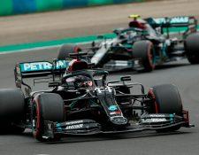 El británico Lewis Hamilton saldrá primero el domingo en el Gran Premio de Hungría. Foto Prensa Libre: AFP