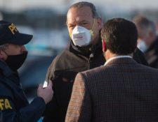 El ministro de Seguridad de la provincia de Buenos Aires, Sergio Berni en una supervisión de rutina en Buenos Aires. (Foto Prensa Libre: Tomada de Infobae)